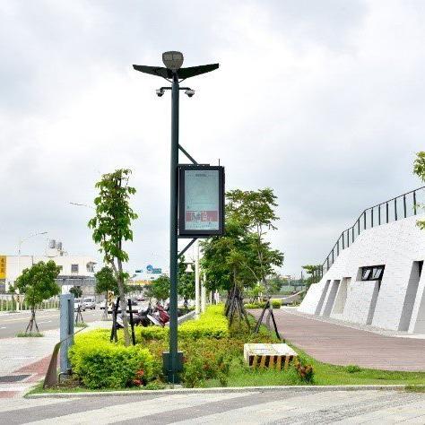 定制各种款式智慧路灯控制系统智慧路灯杆5米8米10米智慧灯杆
